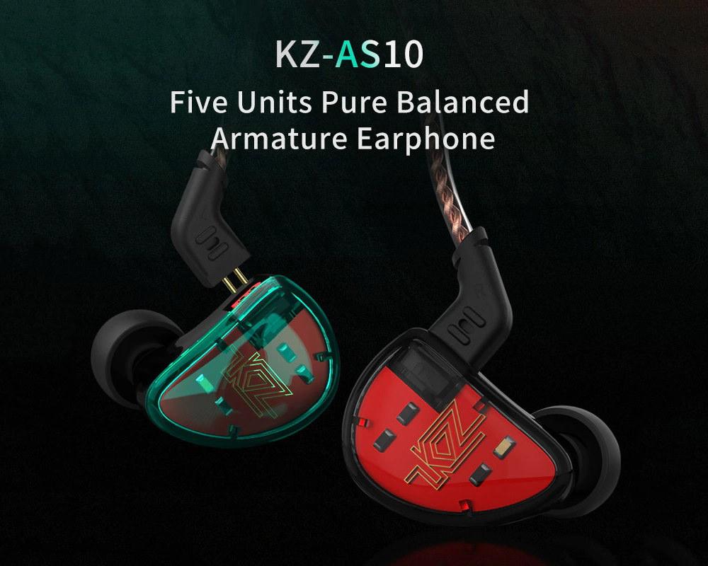 kz as10 earbuds