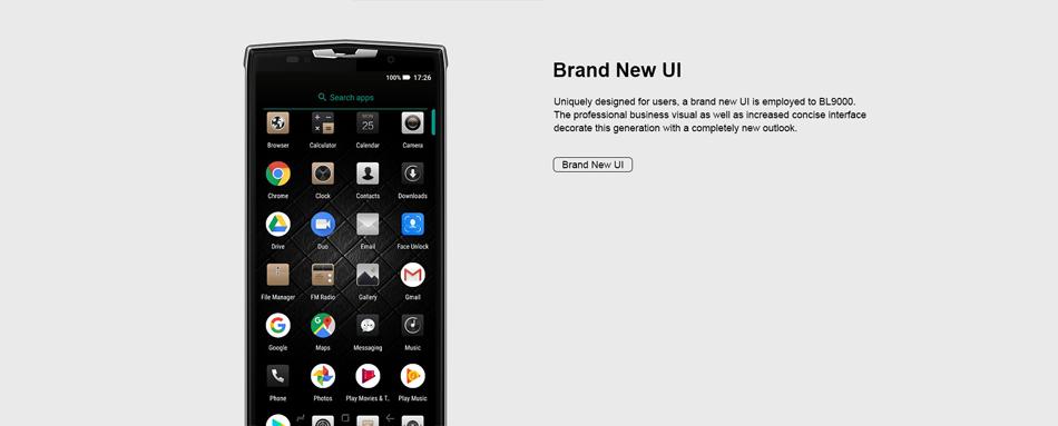 doogee bl9000 4g smartphone
