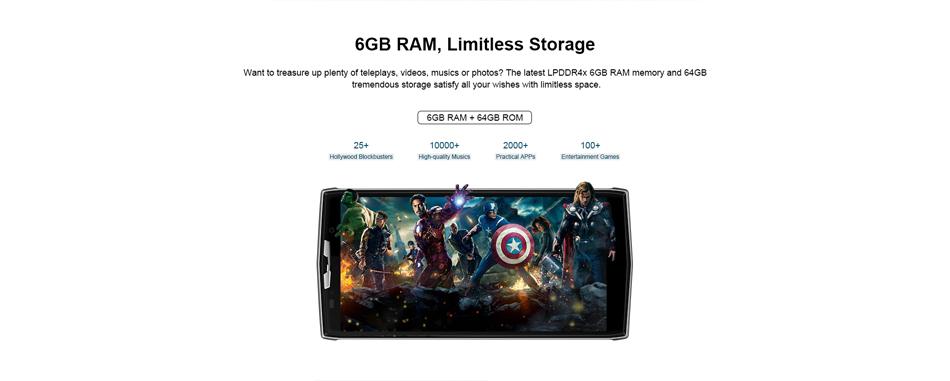 doogee bl9000 smartphone