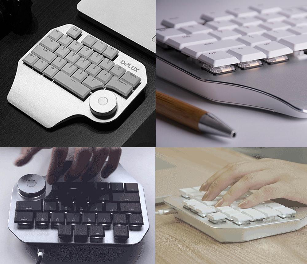 delux t11 designer keyboard online