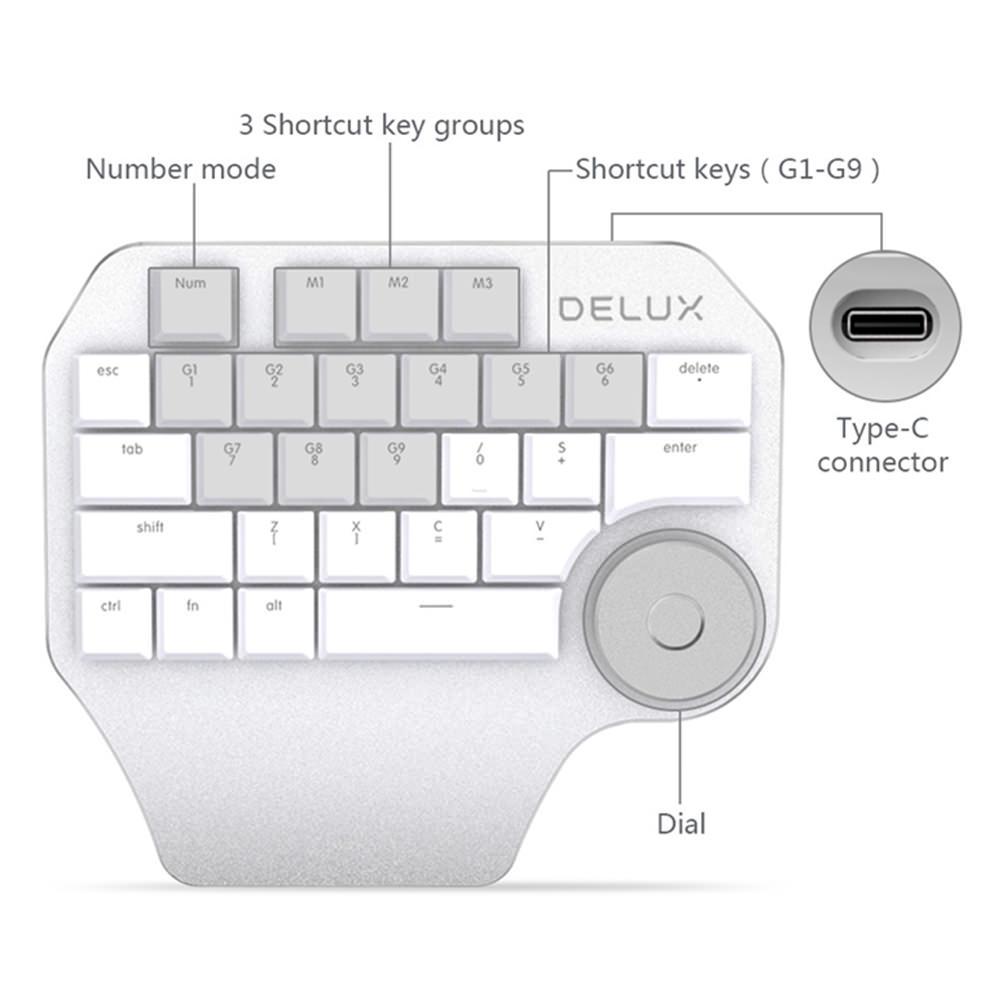 delux t11 designer keyboard