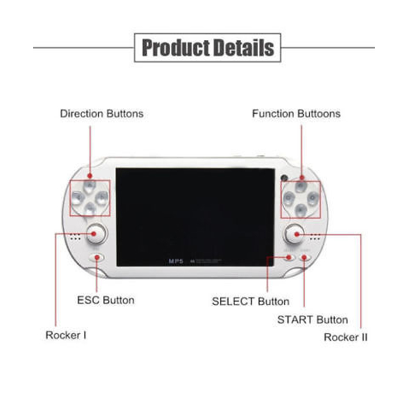 new psp game console player