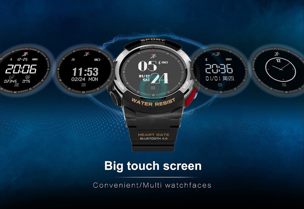 no.1 f6 gps smartwatch