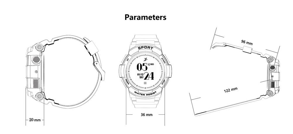 no.1 f6 smartwatch price