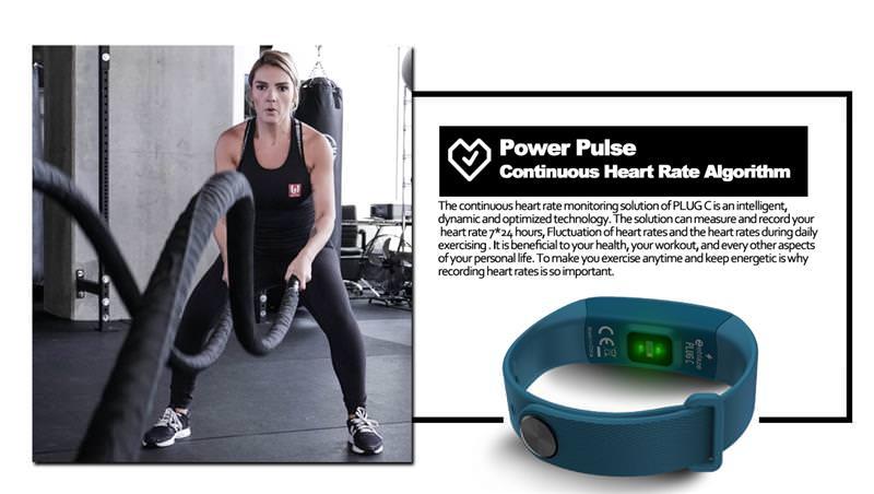 zeblaze plug c smart wristband
