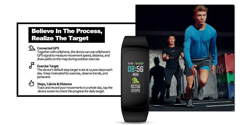 buy zeblaze plug c smart wristband