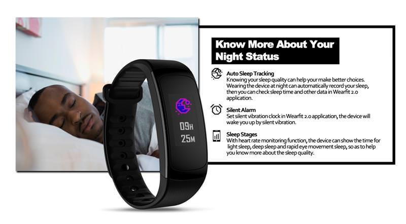 zeblaze plug c smart wristband sale