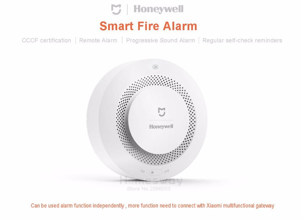 mijia honeywell fire alarm detector