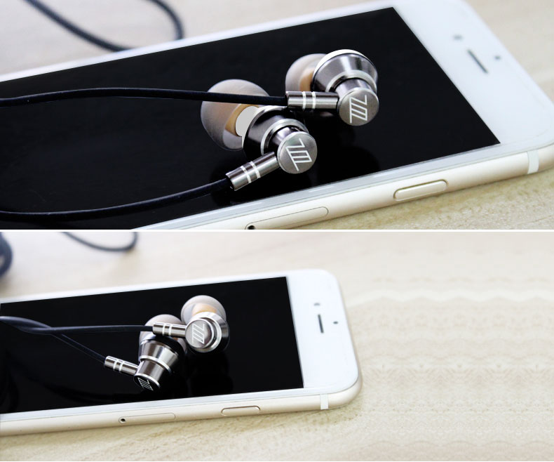Zermie EMB-ZM-03 Deep Bass Stereo Metal Earphone