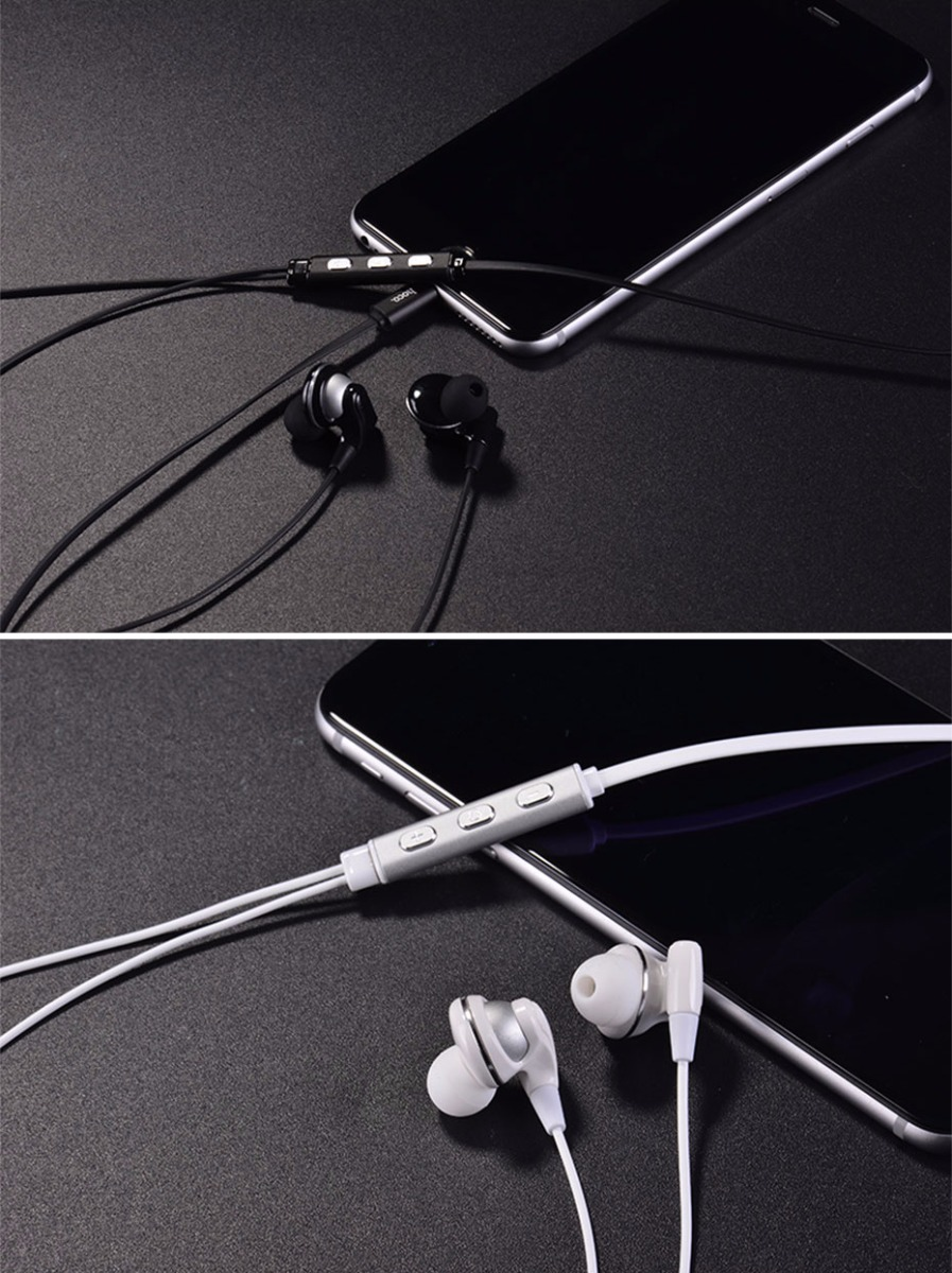 HOCO L1 Hi-Fi Wired Sports Headphones for 8pin Interface Connection
