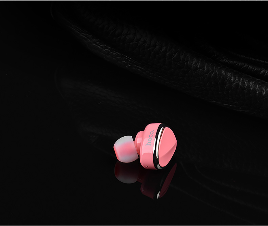 HOCO E7 Mini Wireless Bluetooth Earphone In-ear Invisible Headset with Microphone