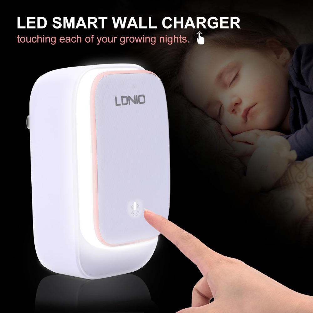 LDNIO A6573 Wall Charger 6 USB Port