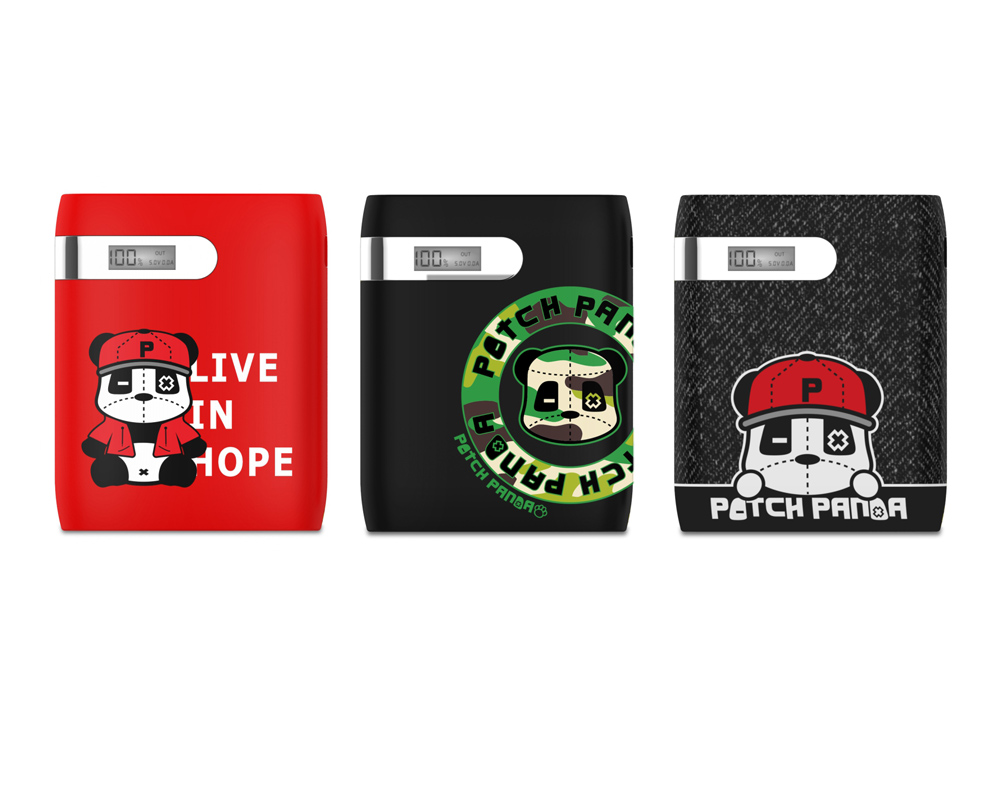 Patch Panda BV5-P 10400mAh Power Bank with LCD Display