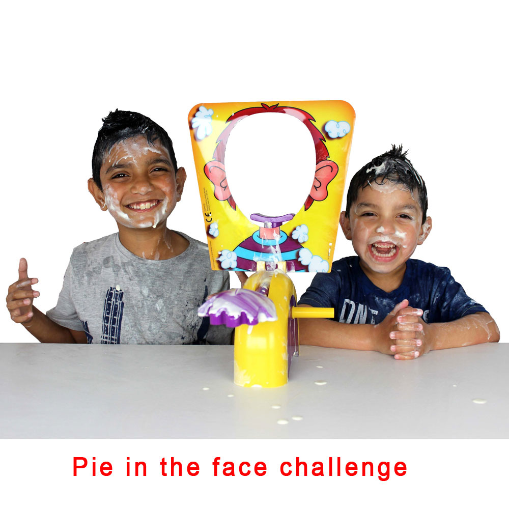 Pie Face Hasbro Gaming Family Games Prank Antistress Toy for Kids Gift