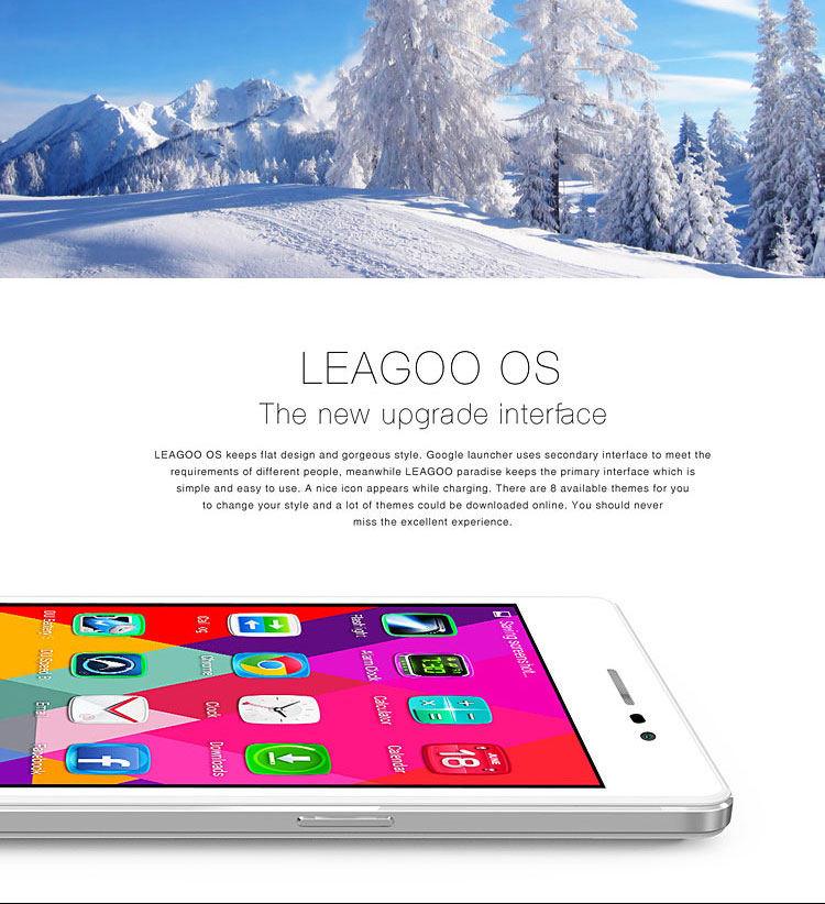 LEAGOO Elite 2 3G Smartphone 5.5 Inch Dual SIM Android 4.4 Octa Core Phablet