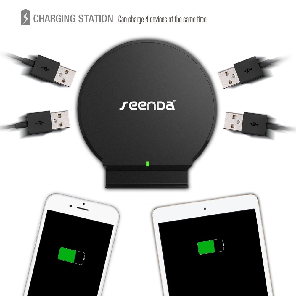 Seenda ICH-S04 4-Port USB Desktop Charger