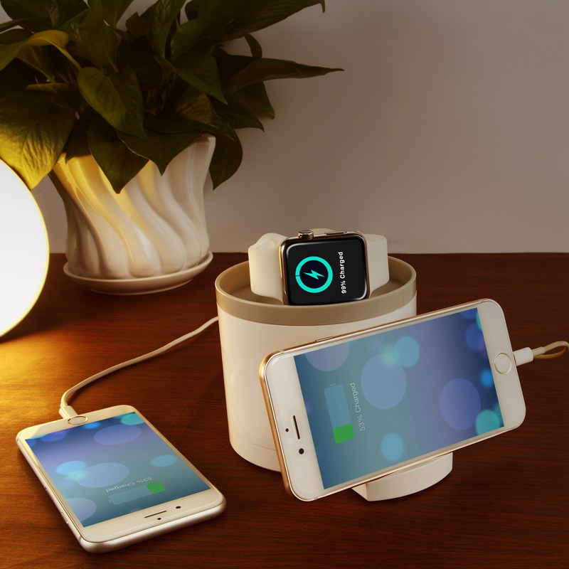 Seenda IPS-1215 Mobile Phone Charger Holder Apple Watch Stand