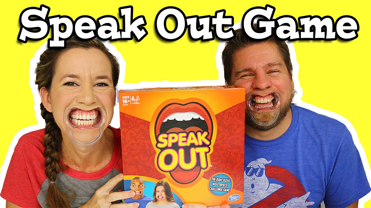 Mouth Opener for Speak Out Game and Must Say It Gaming Tool