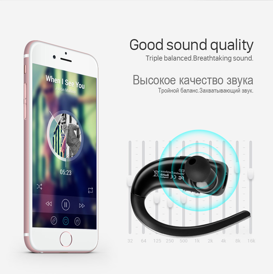 business bluetooth earphone