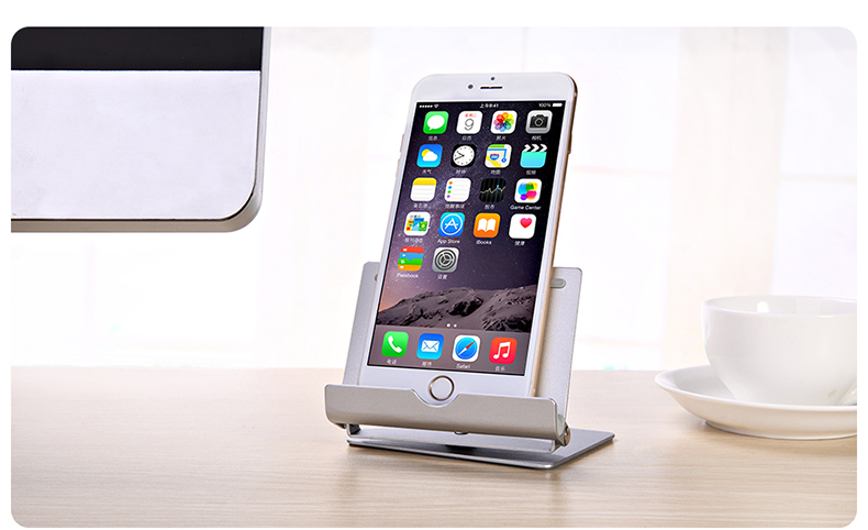 Seenda Universal Aluminium Metal Tablet Stand Portable Fold-up Adjustable Desk Holder
