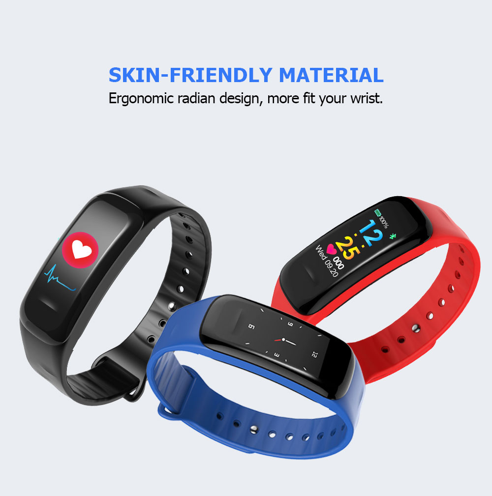 C1 Plus PPG Smart Sport Bracelet with Heart Rate Monitoring Function
