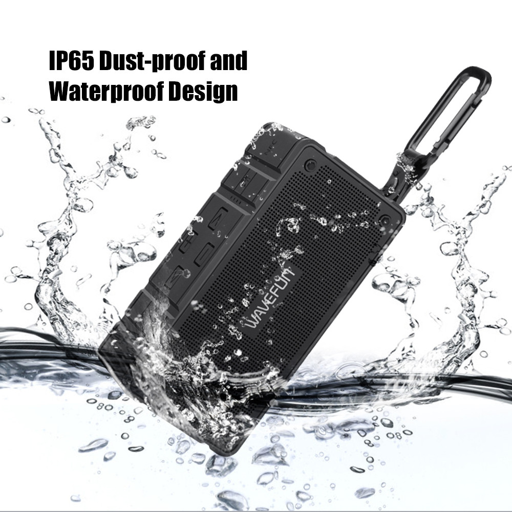 Wavefun Cuboid Mini Portable IP65 Waterproof Bluetooth Speaker