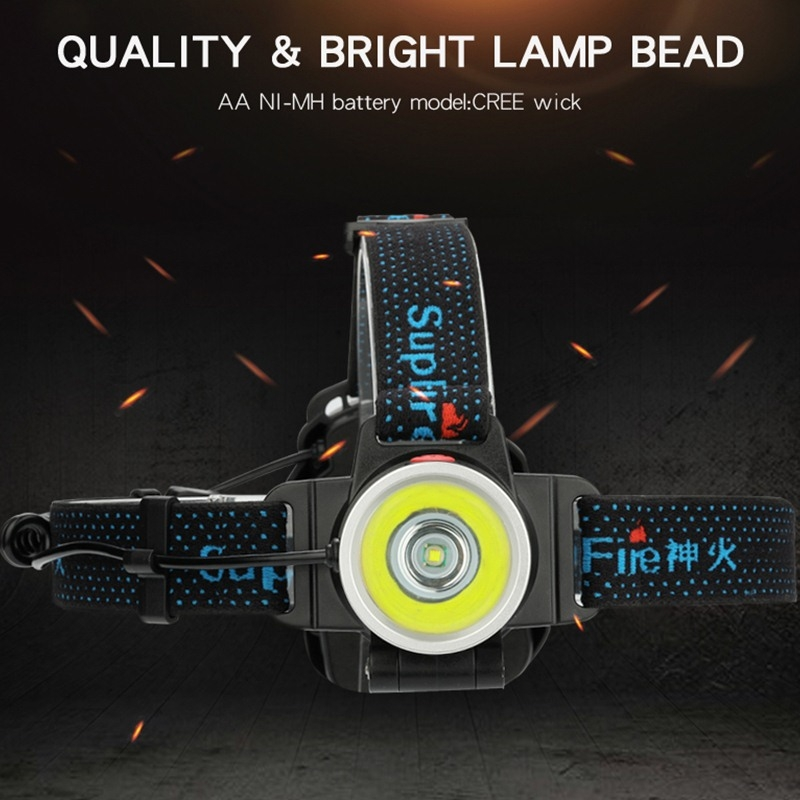 SupFire HL21 10W High Brightness Water Resistant LED Working Headlamp