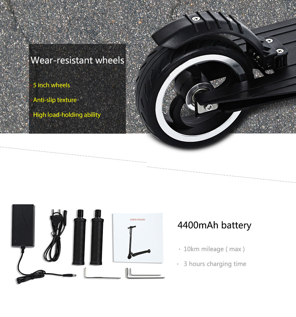 Smartmey T5 Ultralight Foldable Electric Scooter