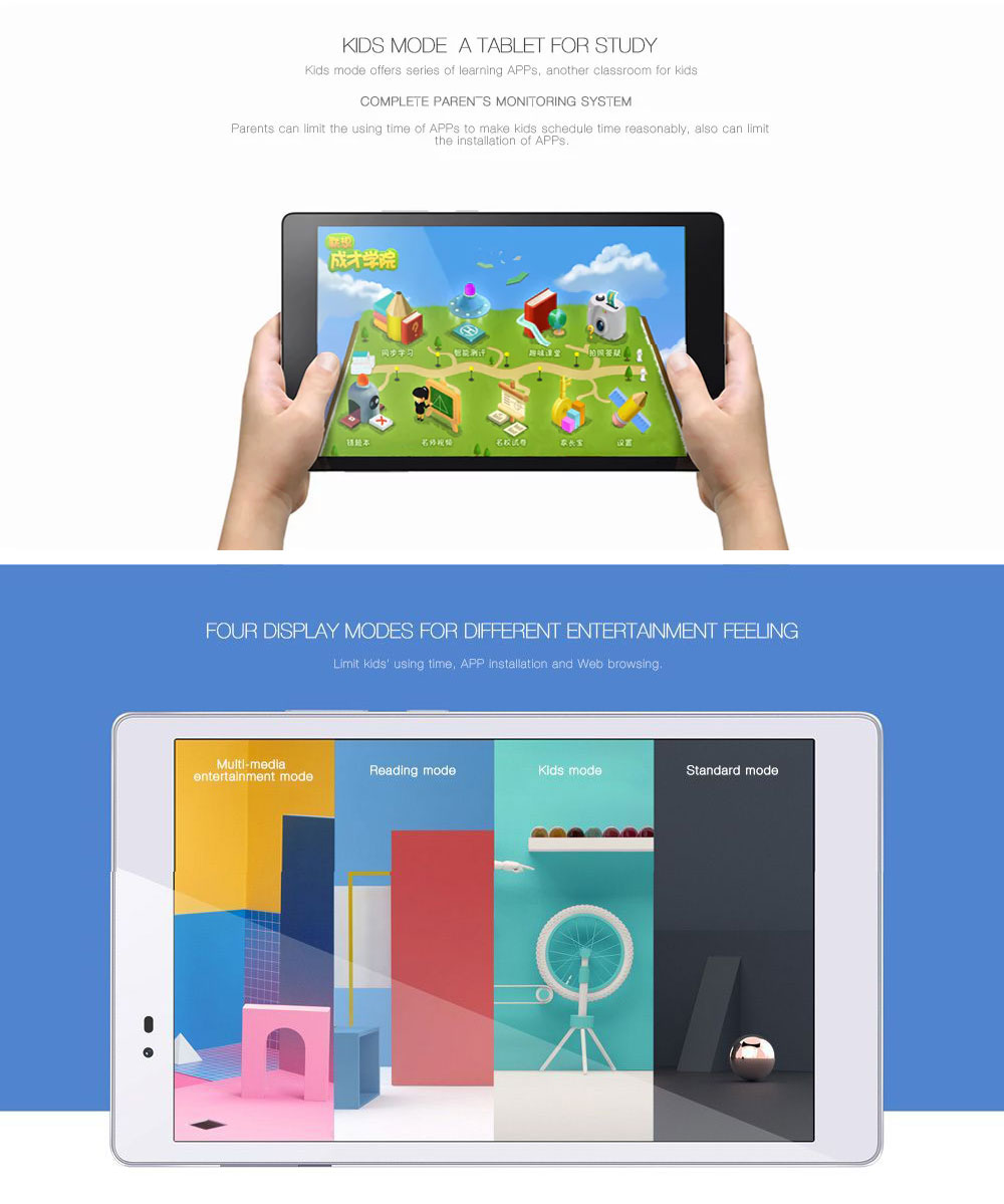 Lenovo P8 Tab3 8 Plus Android 6.0 OS 8 Inch WiFi Tablet PC