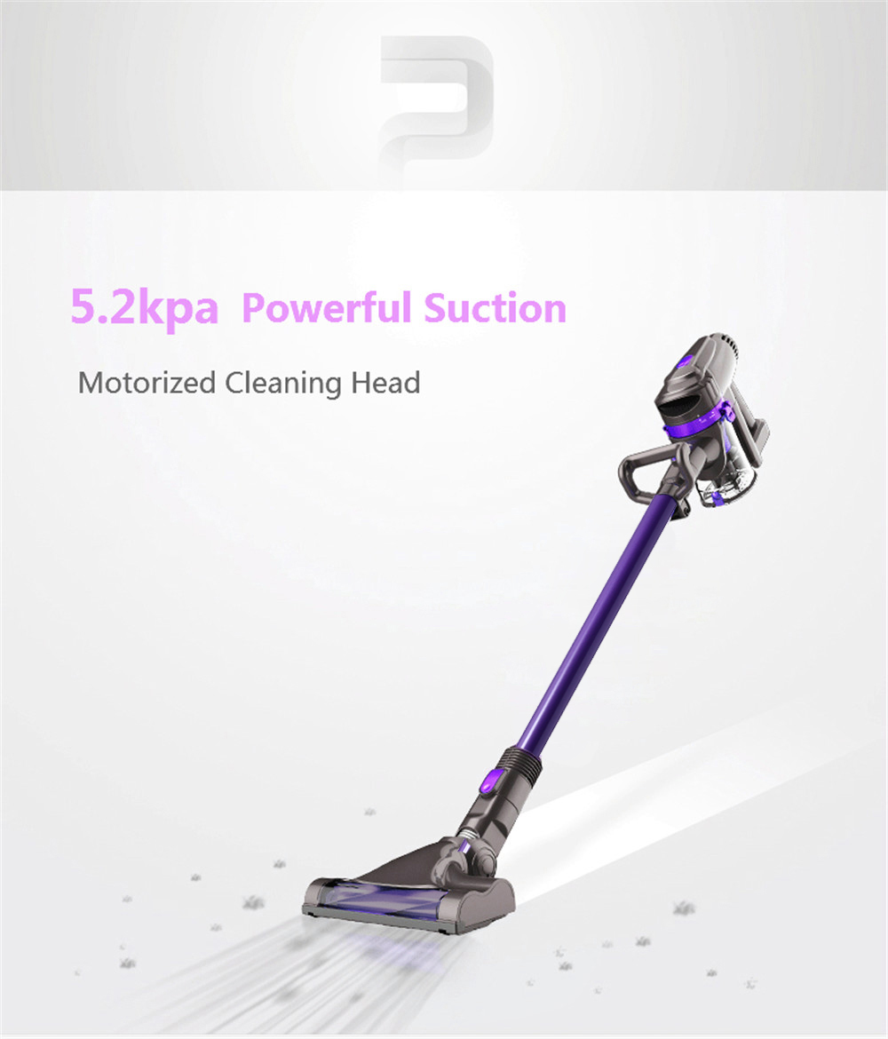 Dibea F6 2-in-1 Powerful Cordless Upright Vacuum Cleaner