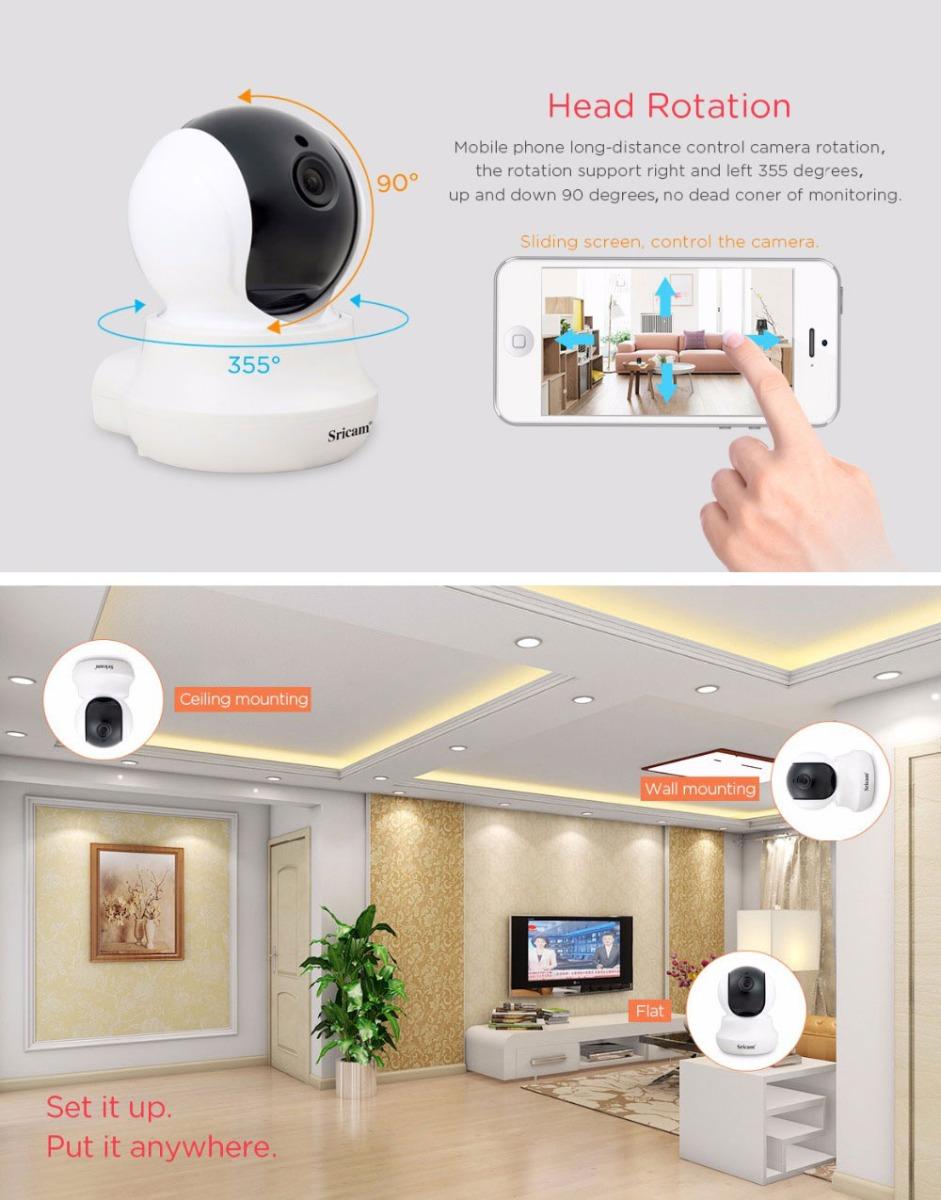 Sricam SP020 720P WiFi IP Camera Home Security Night Vision Wireless Webcam