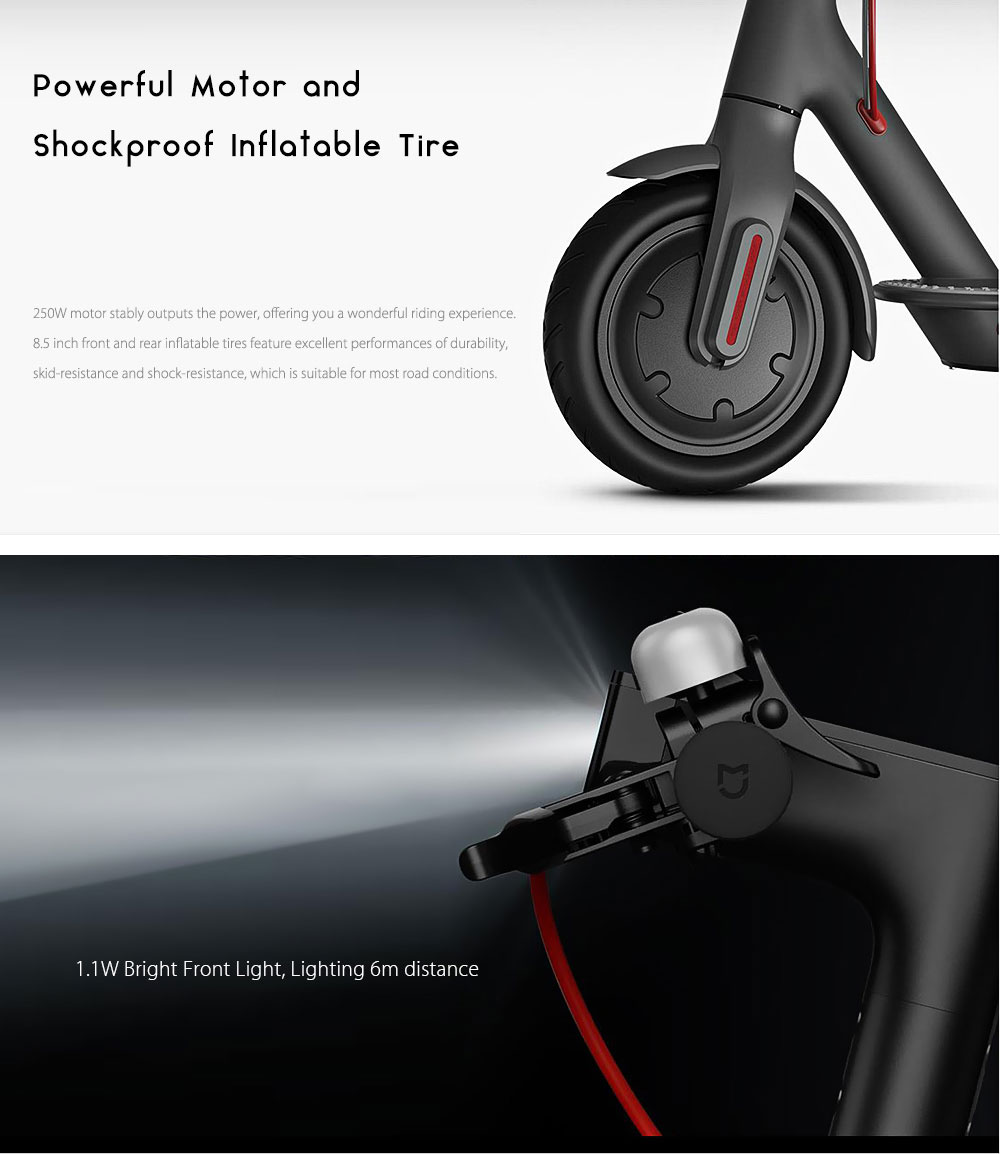 xiaomi kick scooter