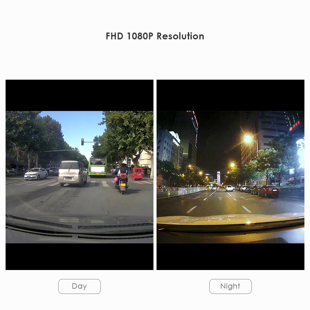 G6 Smart Car DVR 1080P 360° Full View 270 Degree Turning Angle Dash Camera