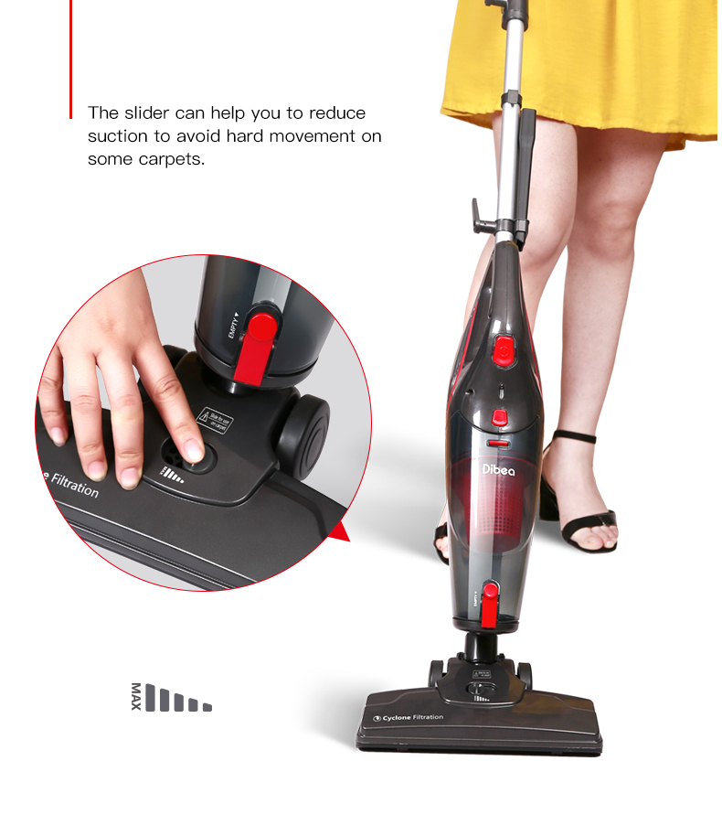 Dibea SC4588 2 in 1 Corded Handheld Stick Vacuum Cleaner