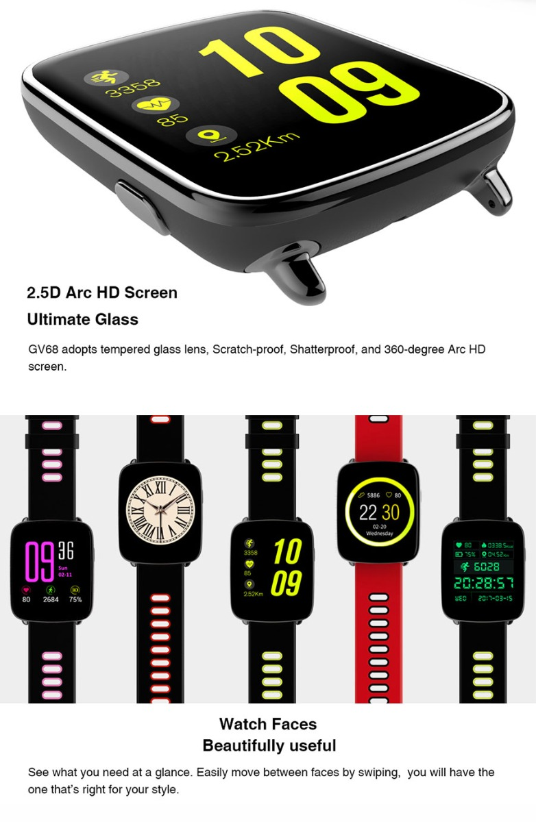 gv68 smart watch