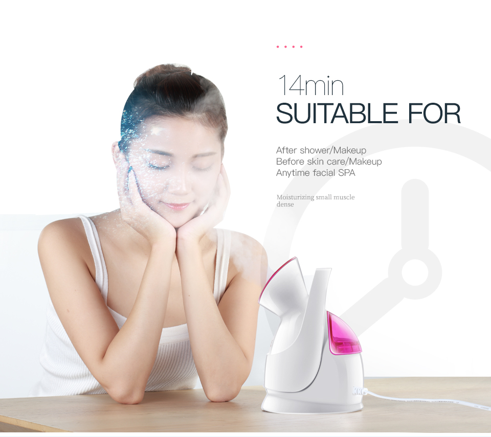 KINGDOM KD-2331A Facial Nano Mist Sprayer Steam Moisturizing Tools