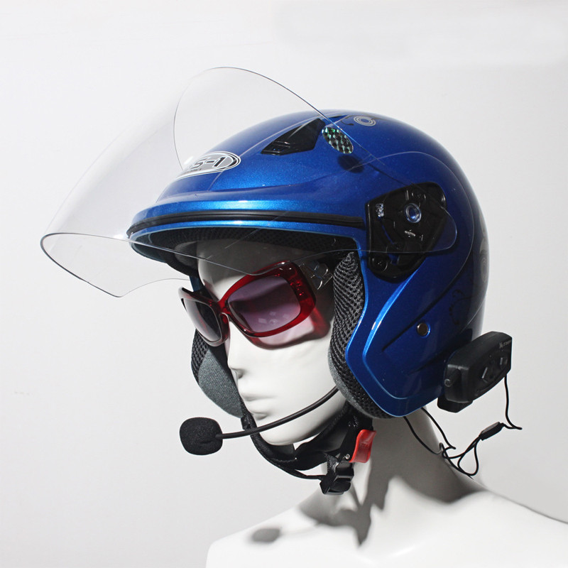 Vnetphone V2 Motorcycle Helmet Headset Waterproof Bluetooth Interphone