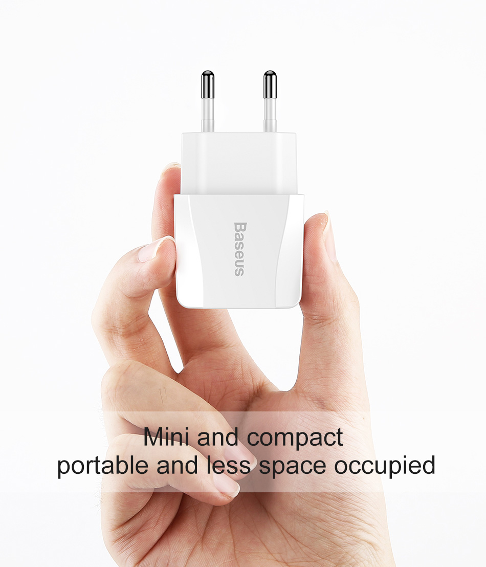 Baseus Dual USB Portable Mini Charger
