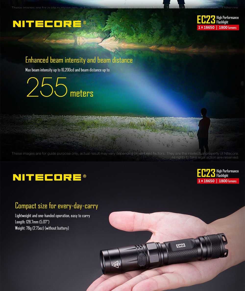 ec23 led flashlight