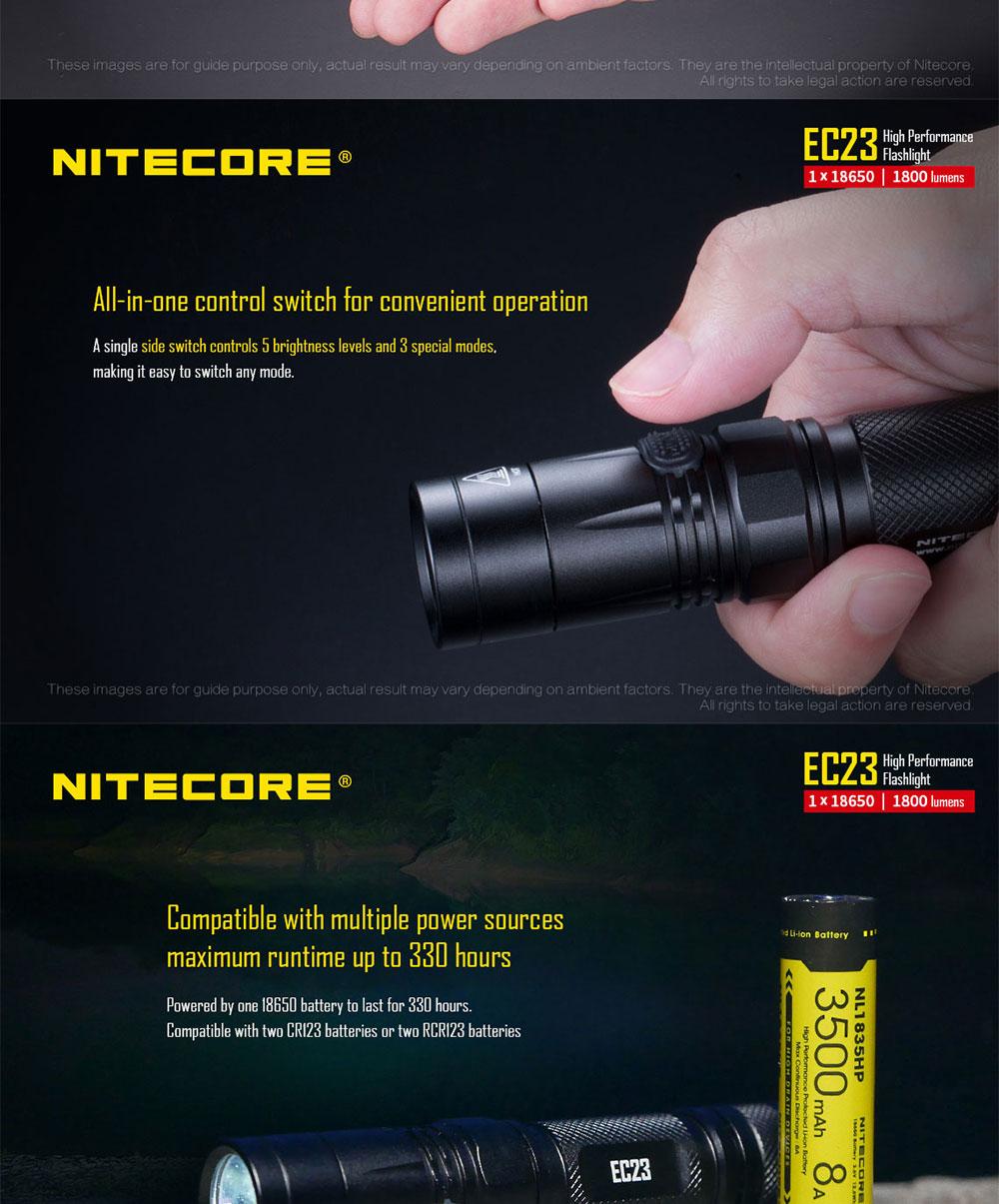 nitecore ec23