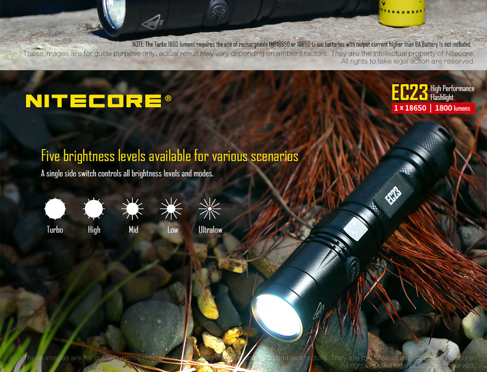 ec23 flashlight