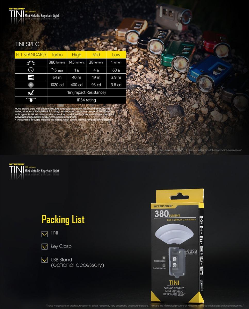 nitecore t series flashlight