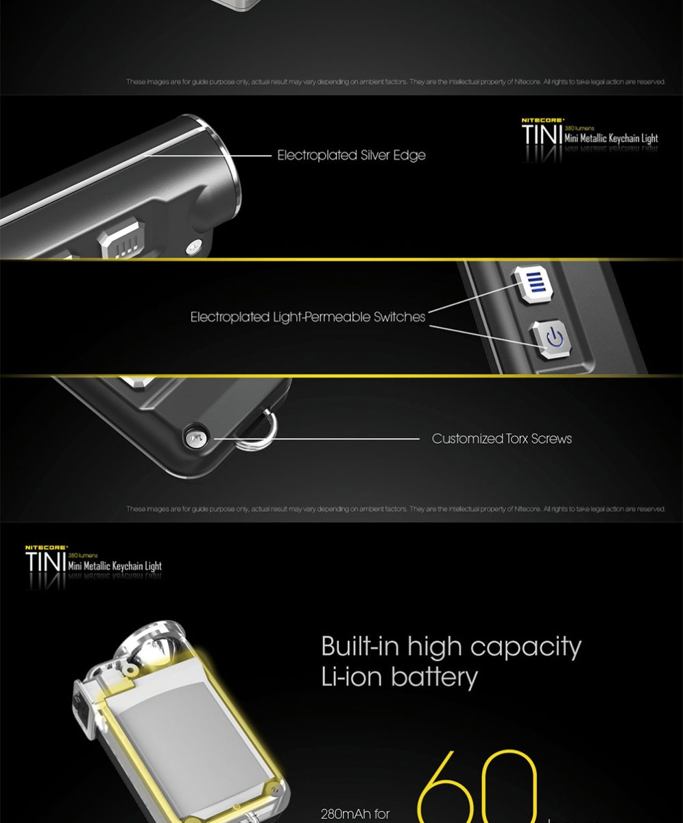 rechargeable keychain light