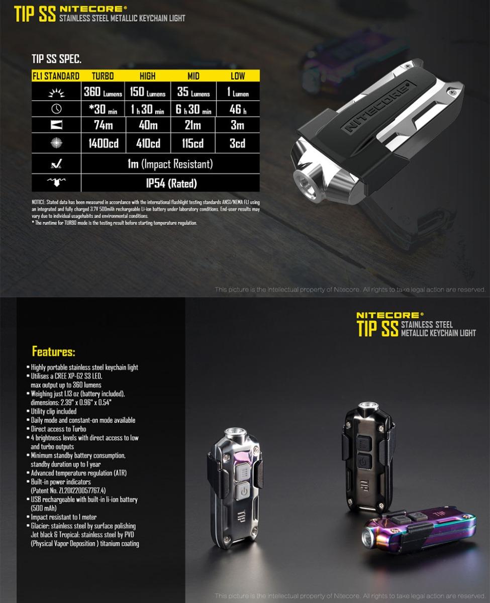 tip ss flashlight