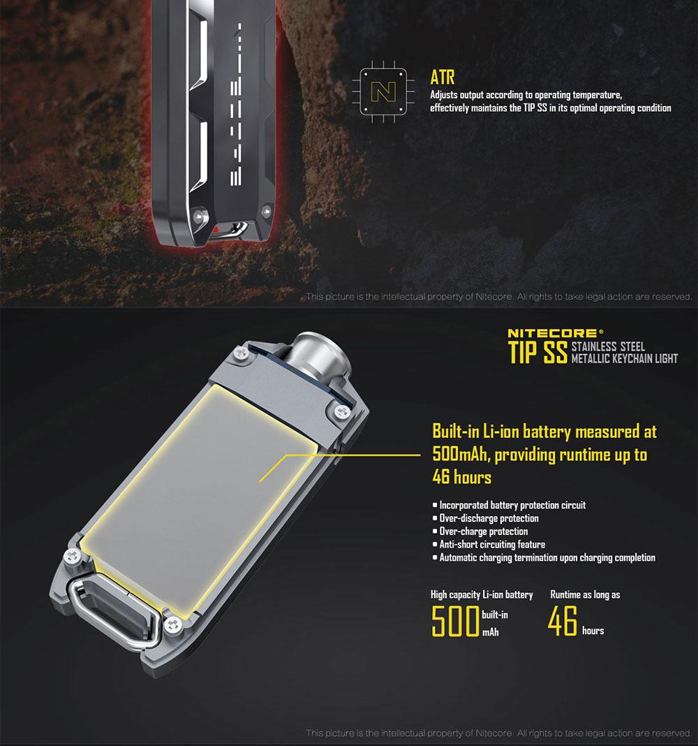usb rechargeable flashlight