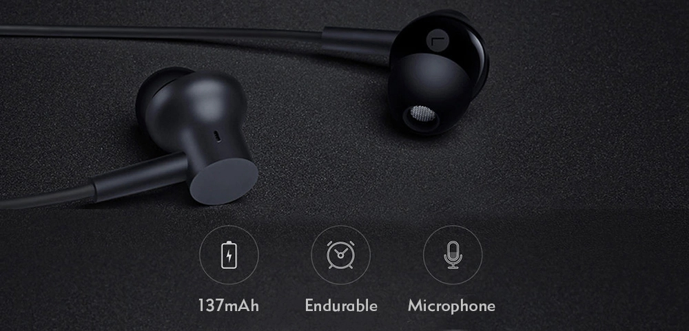 mi bluetooth necklace earphones