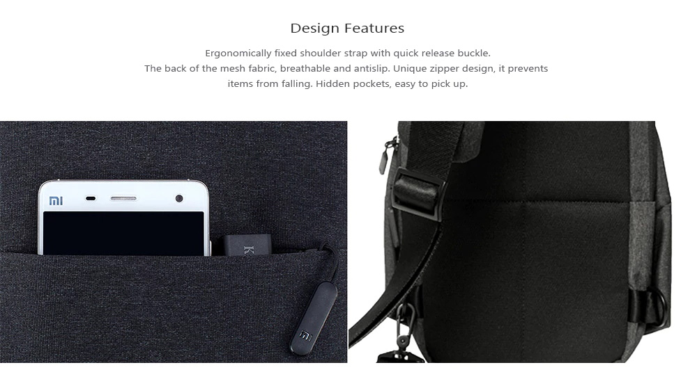 xiaomi leisure bag
