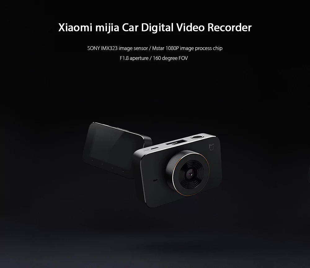 mijia car dvr