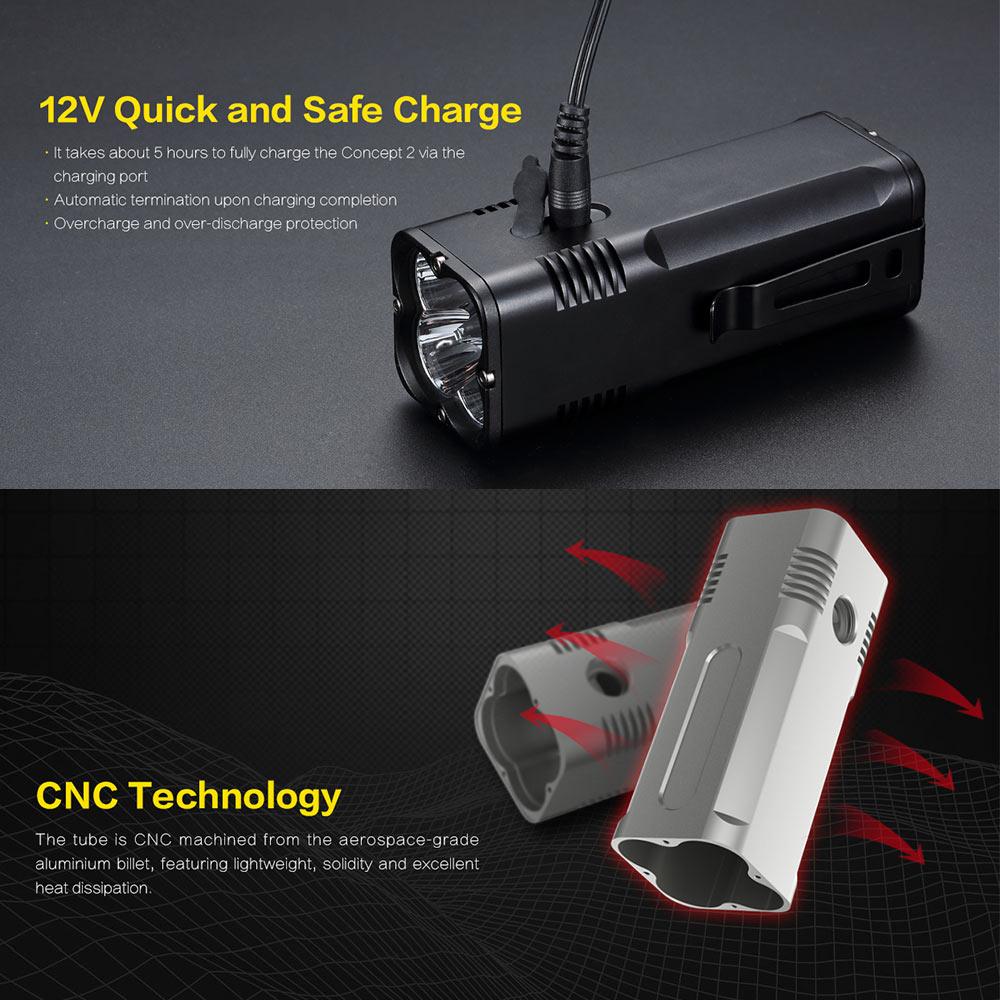 nitecore c2 flashlight