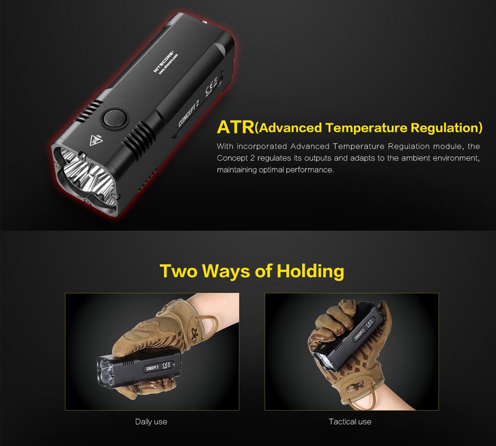 nitecore concept 2 flashlight